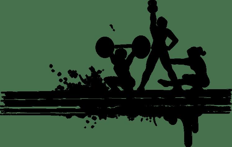 silhouette-squats
